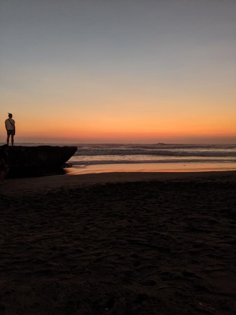 Coucher de soleil Echo Beach