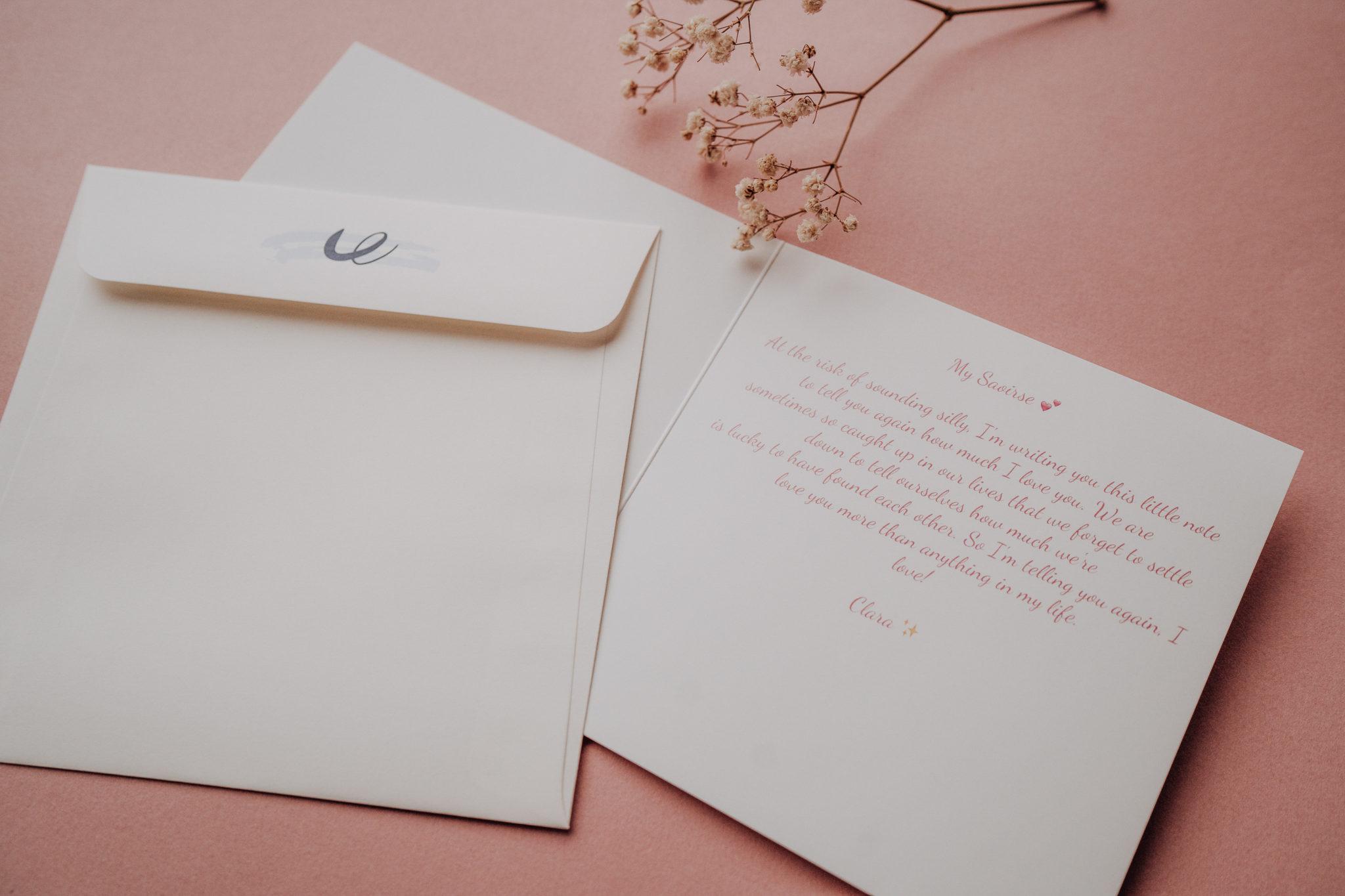 texte mariage rose