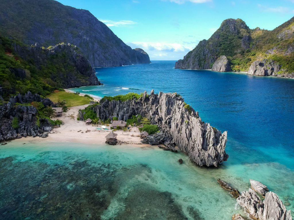 El Nido ile de l'archipel de Palawan aux Philippines