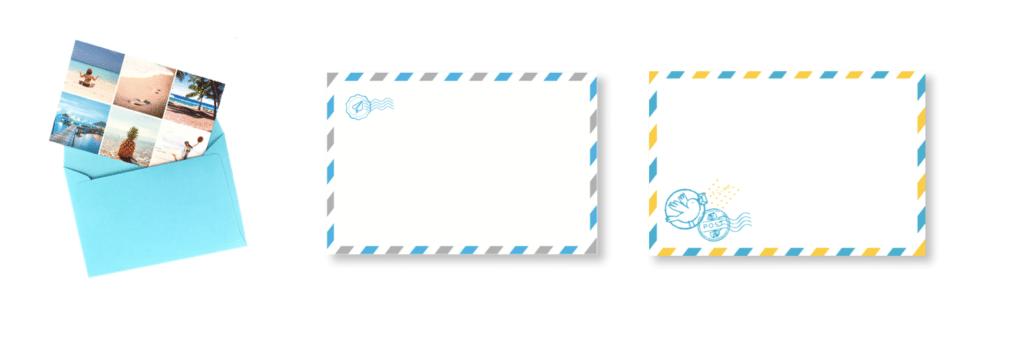 Evolution des enveloppes Fizzer d'il y a 5 ans à aujourd'hui