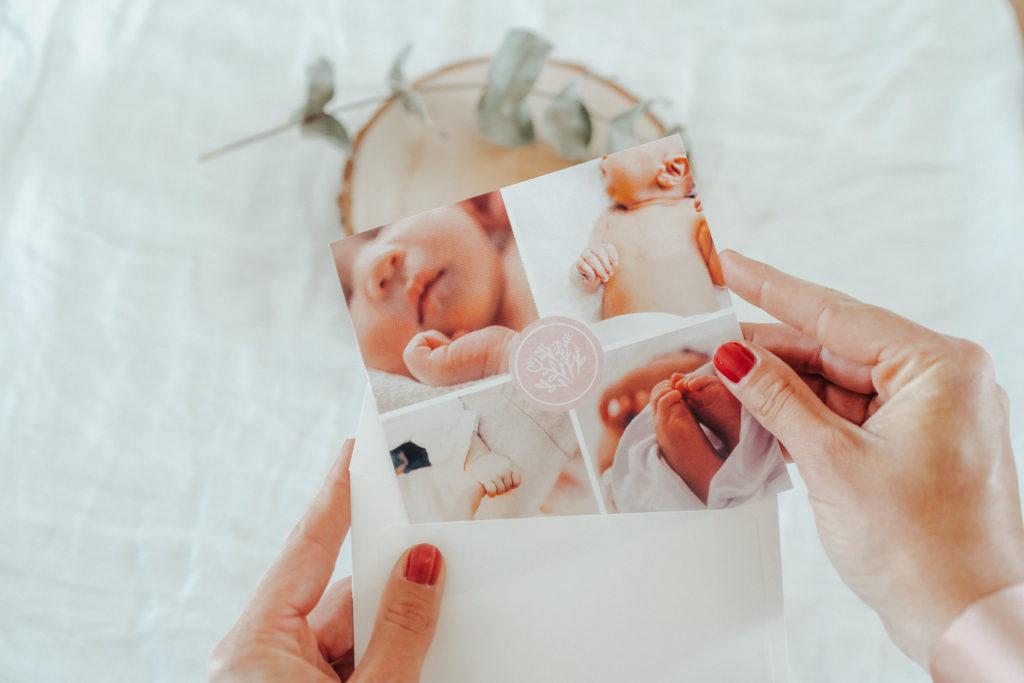 faire-part de naissance fille avec photos