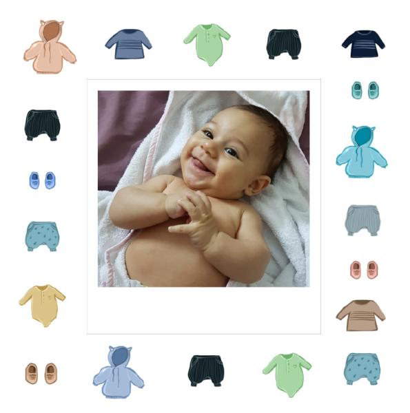carte de naissance vetements bebe garcon