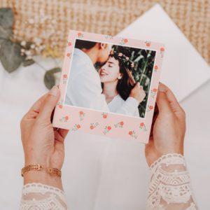 faire-part de mariage original et personnalise avec Fizzer