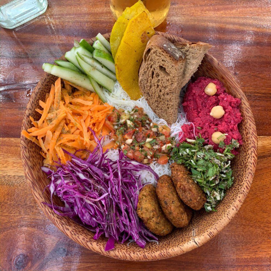 Falafel bowl au Moochie