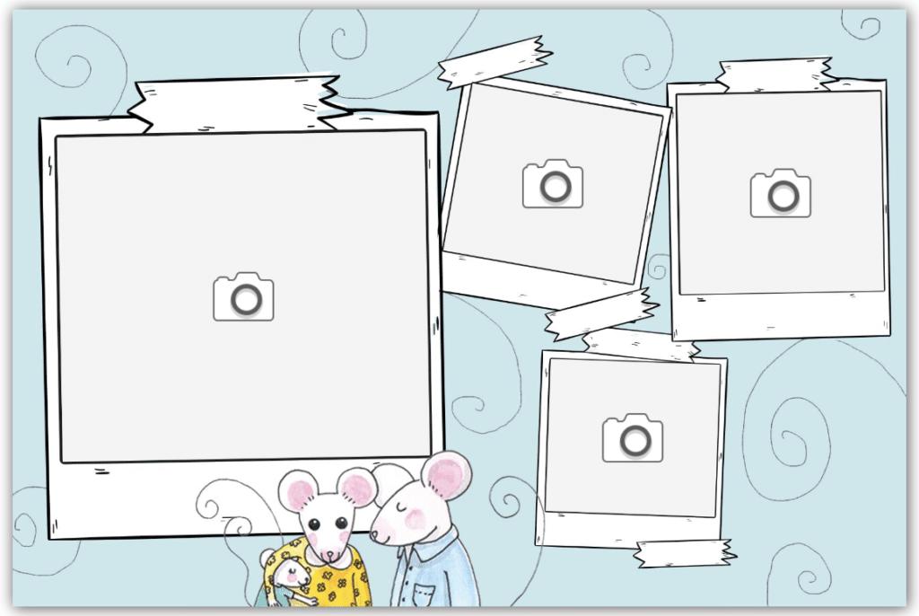 Famille de souris