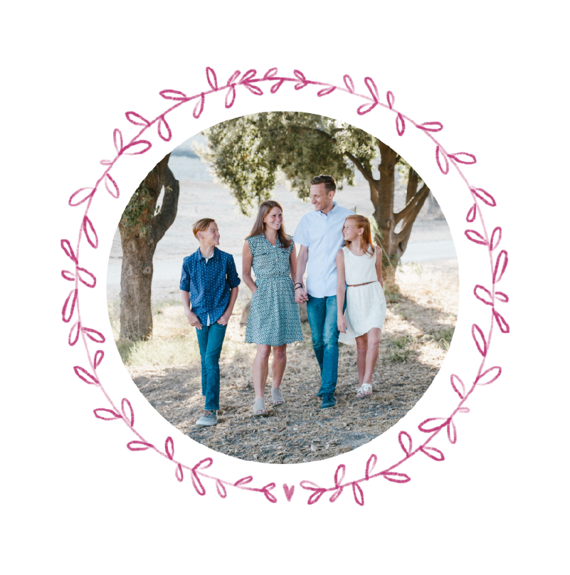 carte felicitations naissance couronne de fleurs roses