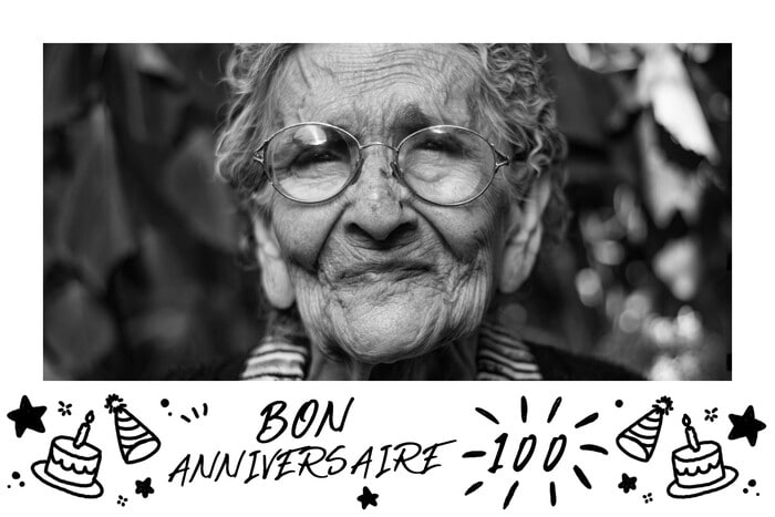 Illustration 100 ans