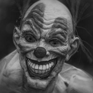 Clown terrifiant films d'horreur pour Halloween