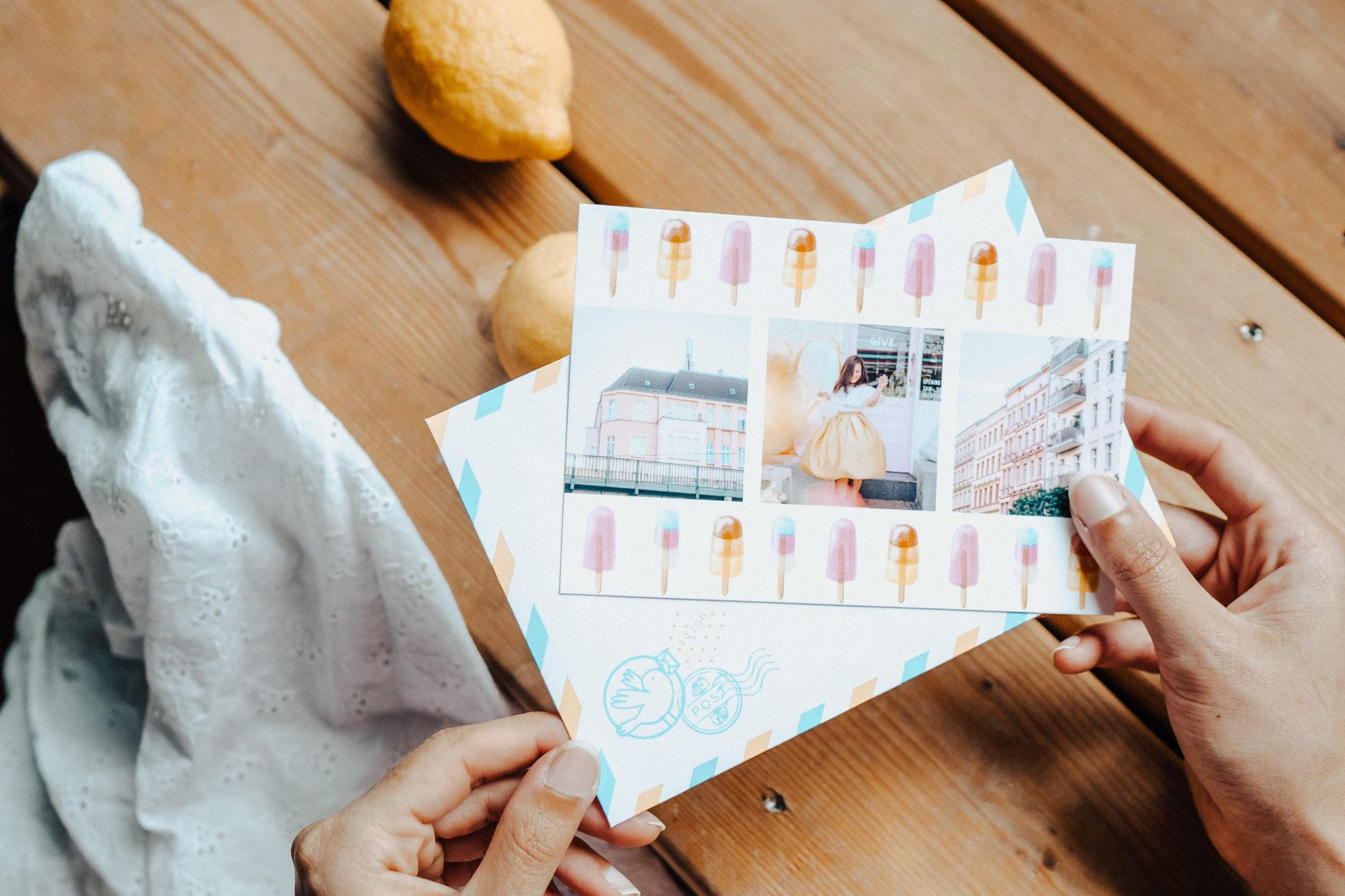 carte postale personnalisee paris