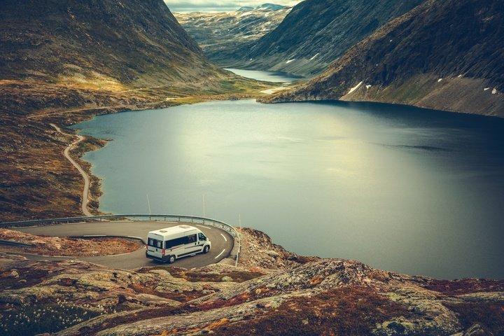 Road trip avec un camping car comme moyen de transport