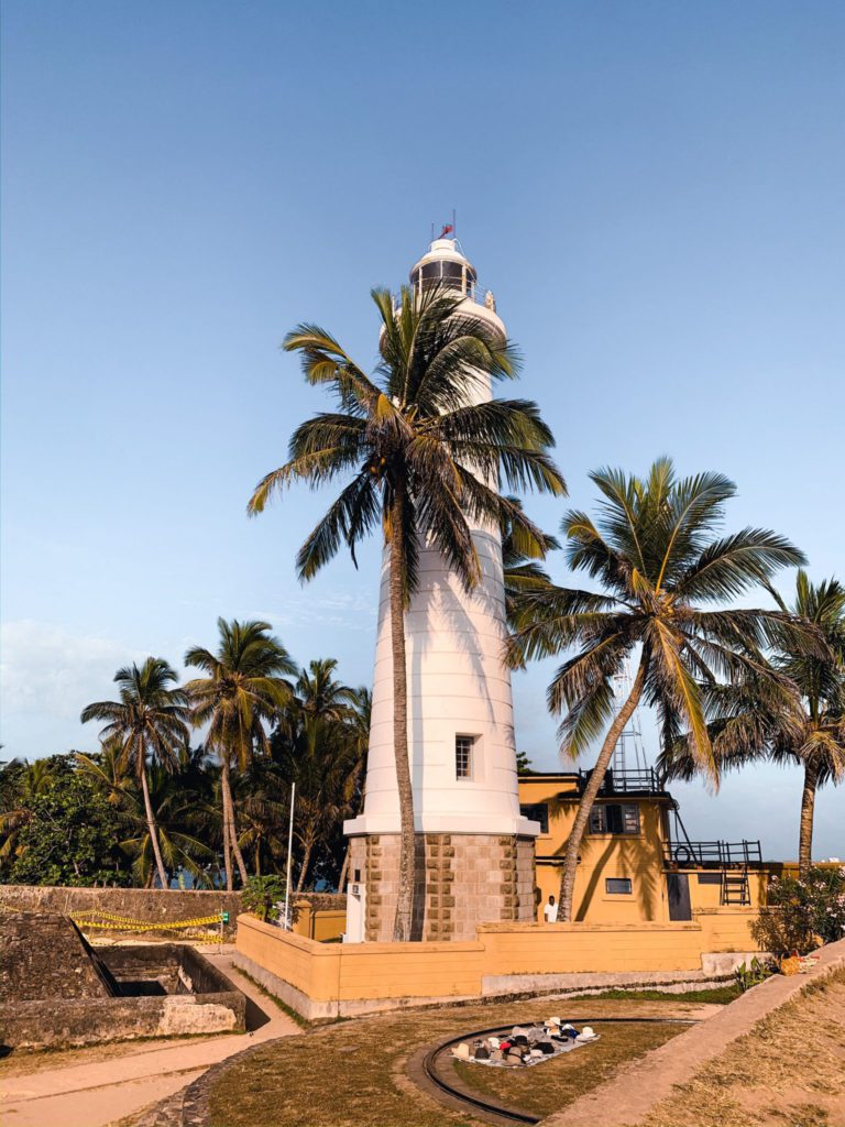 Fort de Galle côte sud du Sri Lanka