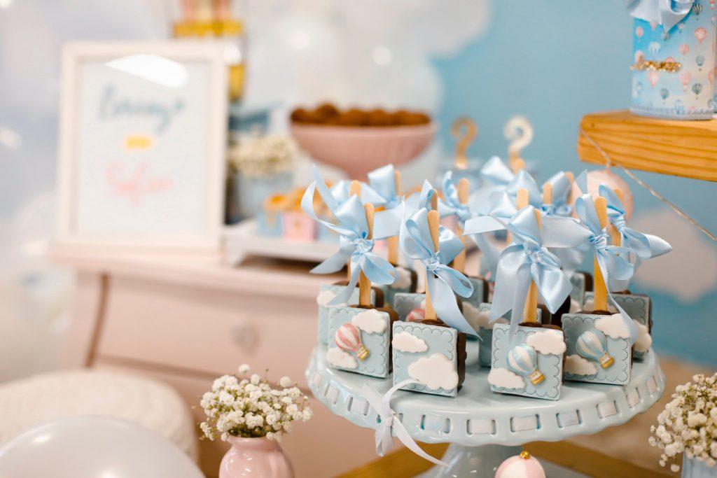 Gâteaux nuage babyshower