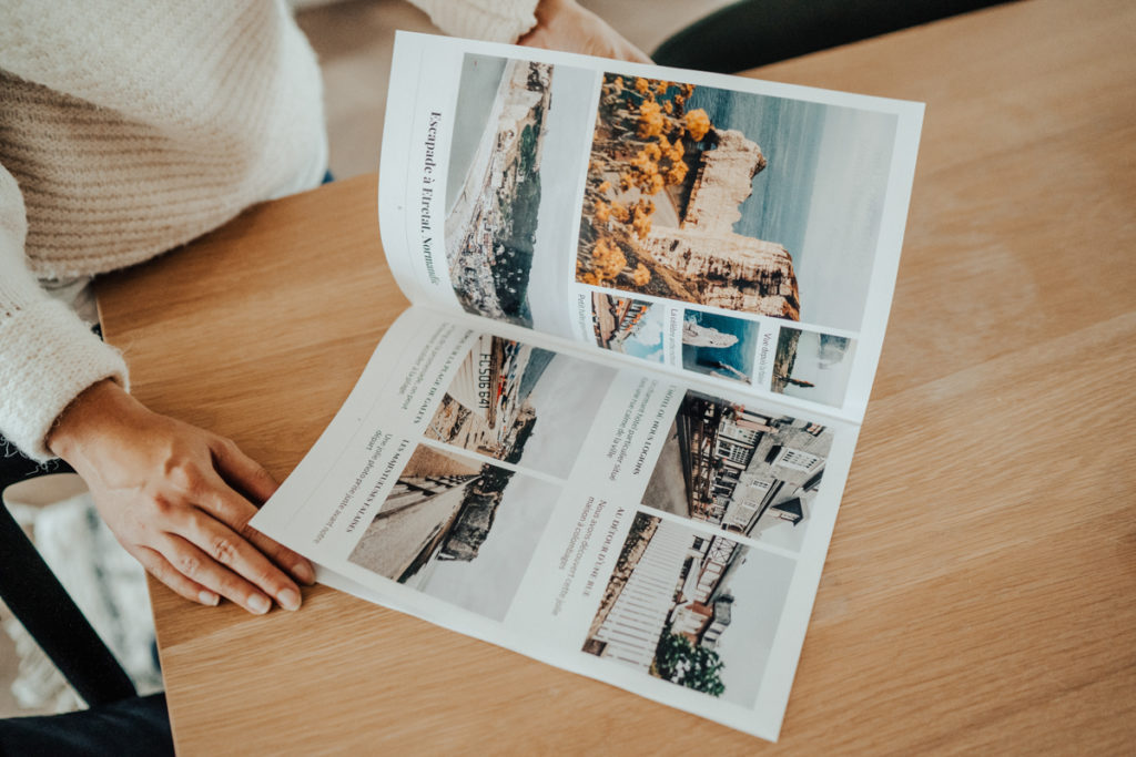 Gazette journal a personnaliser avec vos photos pour mariage