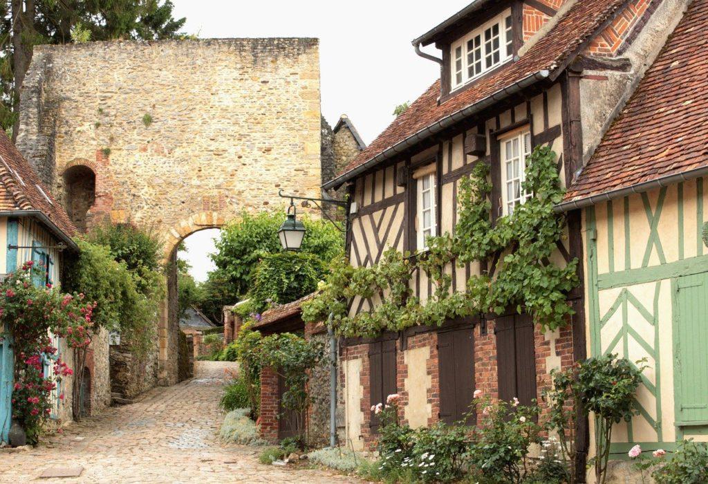 Gerberoy village Oise France