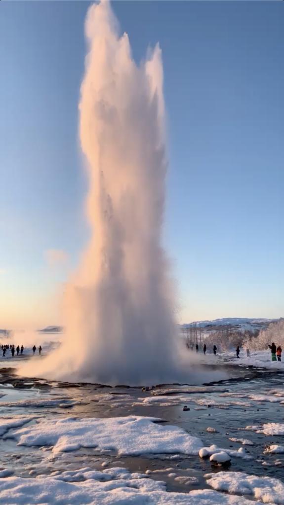 Strokkur Islande