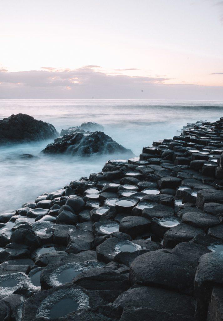 rochers de la chaussee des geants Irlande du Nord