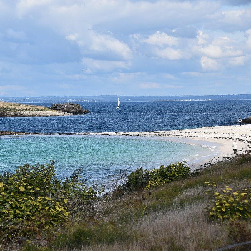 archipel des glenans plage bretagne