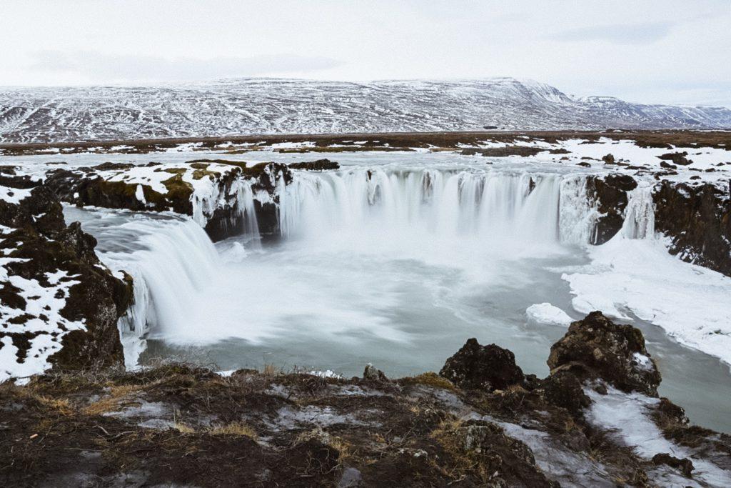 Cascade Godafoss Islande