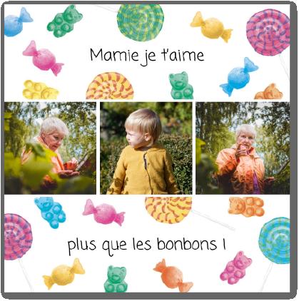 carte bonbons fete des grands-meres