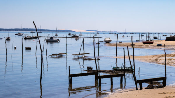Bateaux bassin d'Arcachon en Nouvelle-Aquitaine