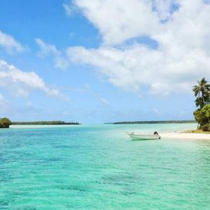 Ile des Pins en Nouvelle-Caledonie avec eau turquoise