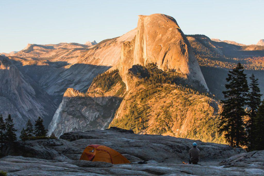 Half Dome à Yosemite, Etats-Unis