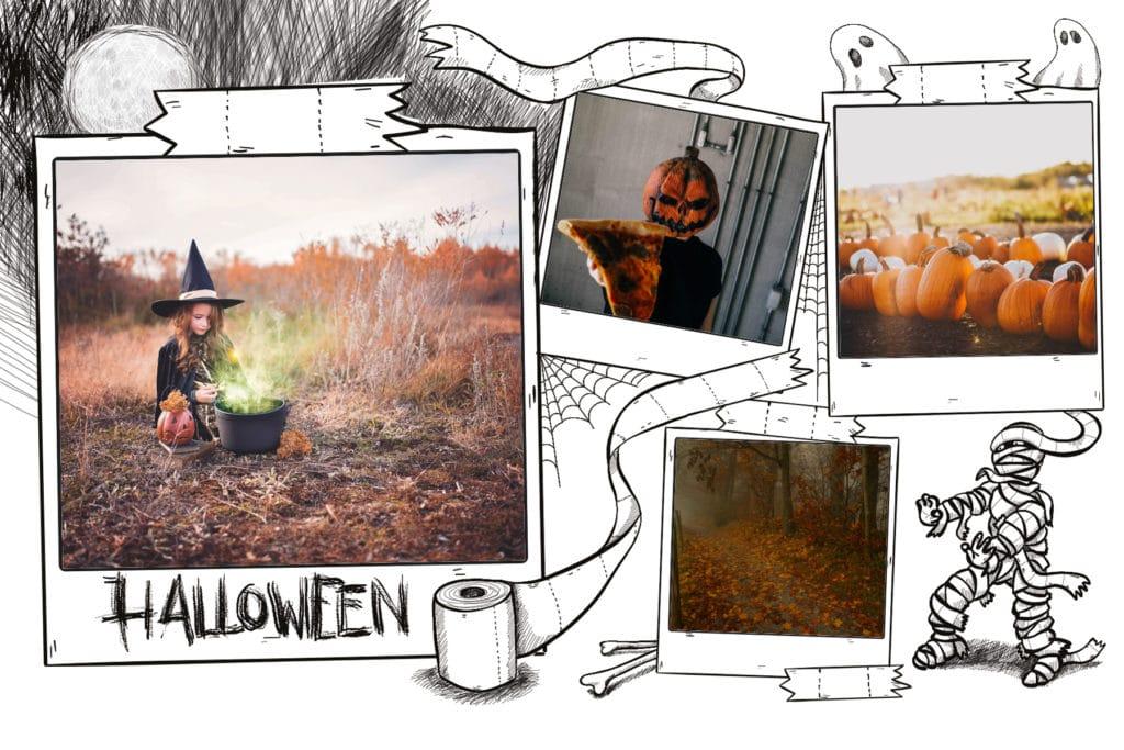 carte halloween momie par Fizzer