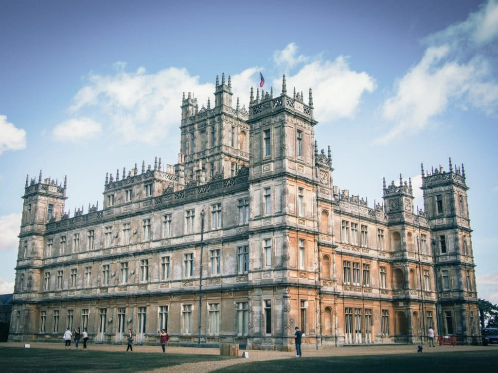 Chateau de la famille Crawley dans Downton Abbey