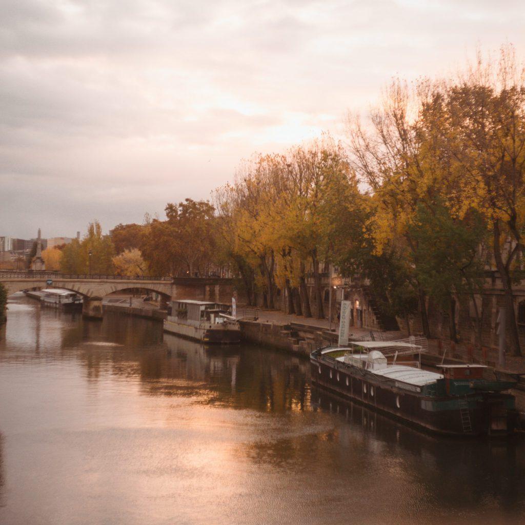 péniches hôtels insolites à Paris