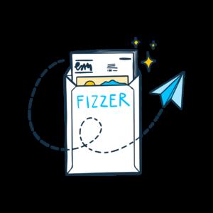 Envoi de votre Gazette Fizzer