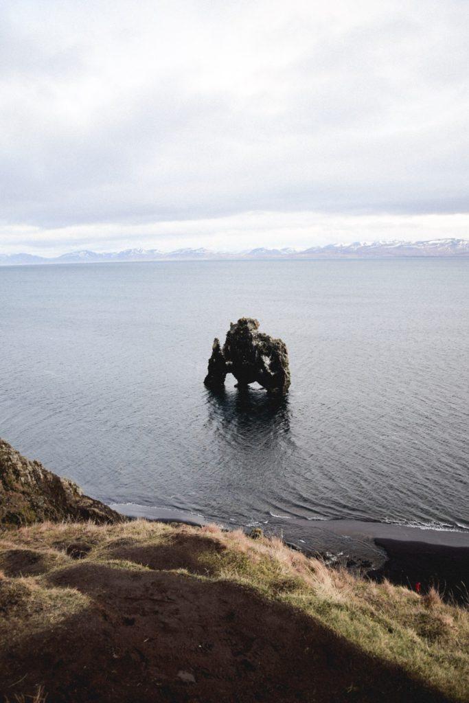 Rocher Hvitserkur Islande