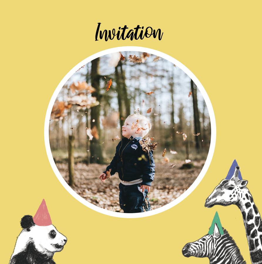 invitation-boy-animals