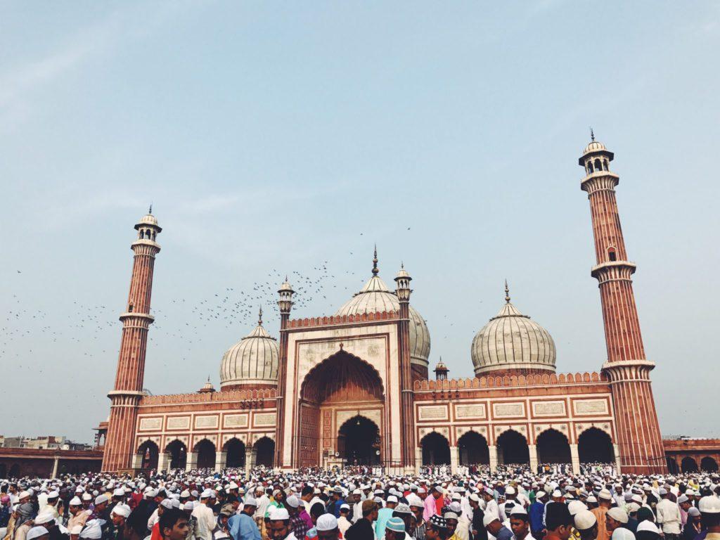 Jama Masjid plus grande mosquee d'Inde
