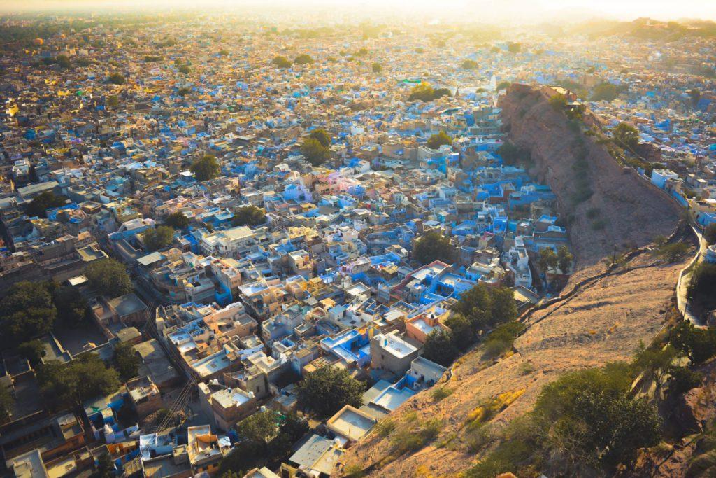 Vue ville de Jodhpur Inde Rajasthan