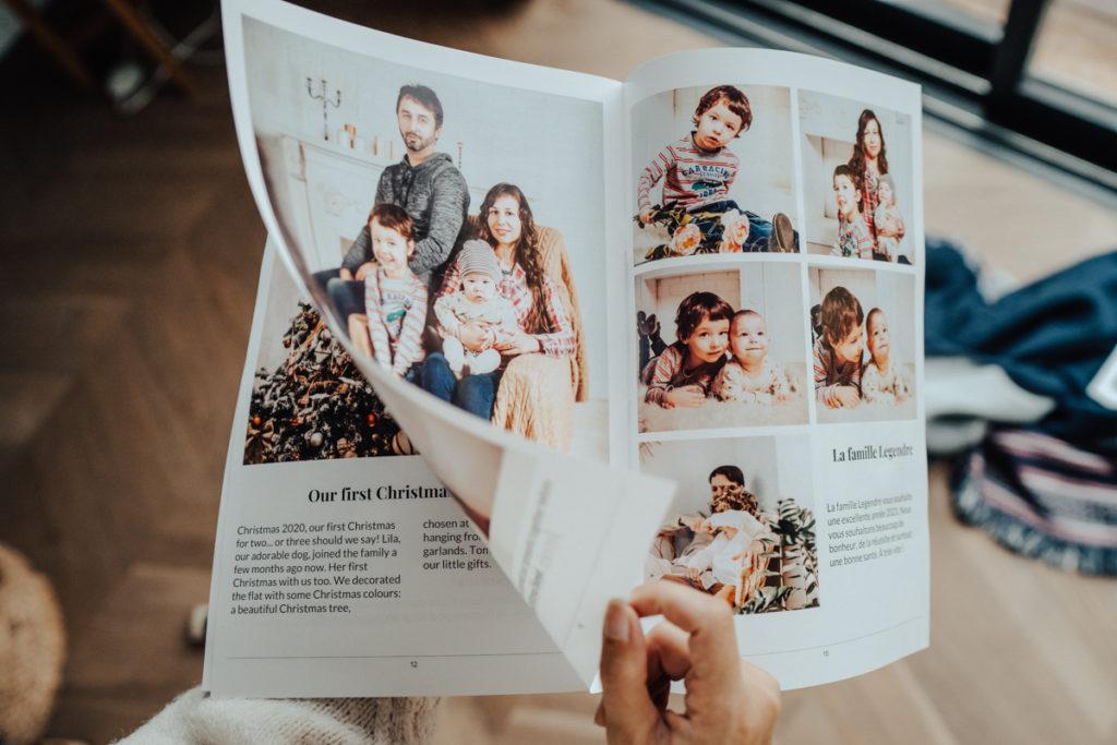 journal de famille avec photos