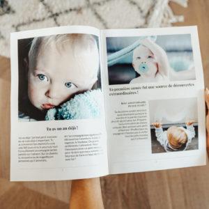Journal de naissance avec photos