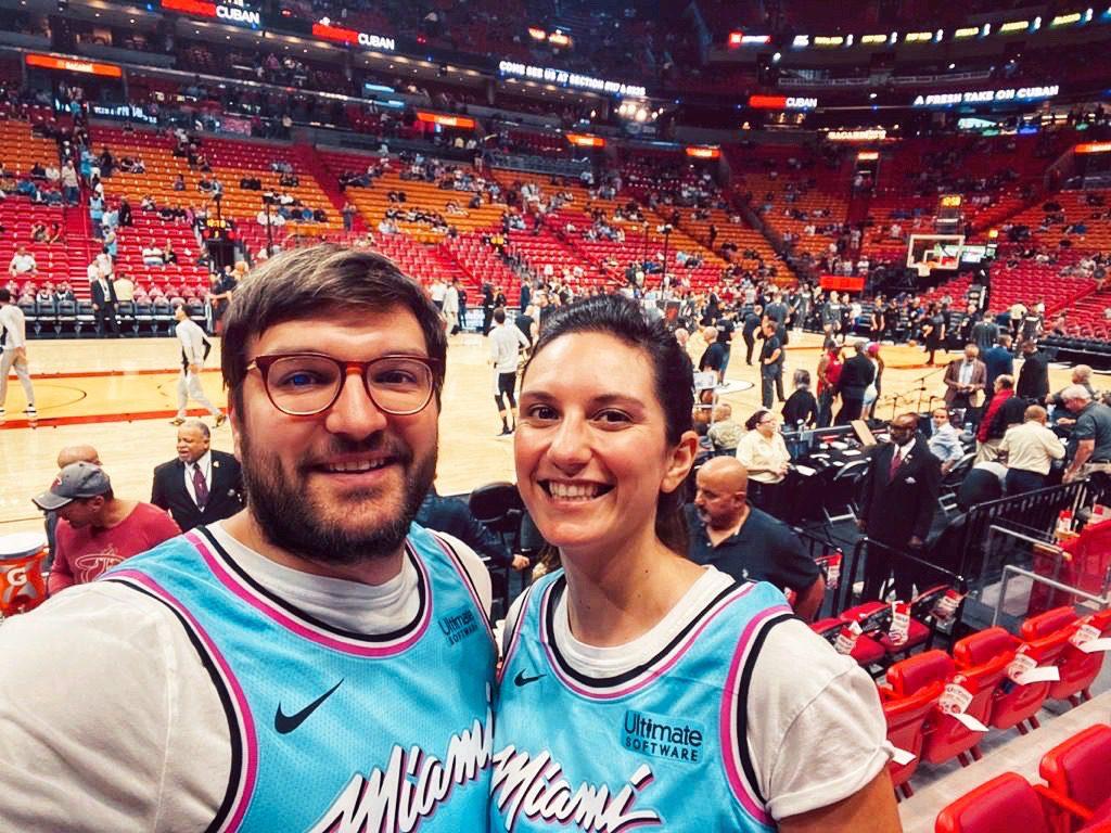 Karline et Baptiste de Fizzer a Miami