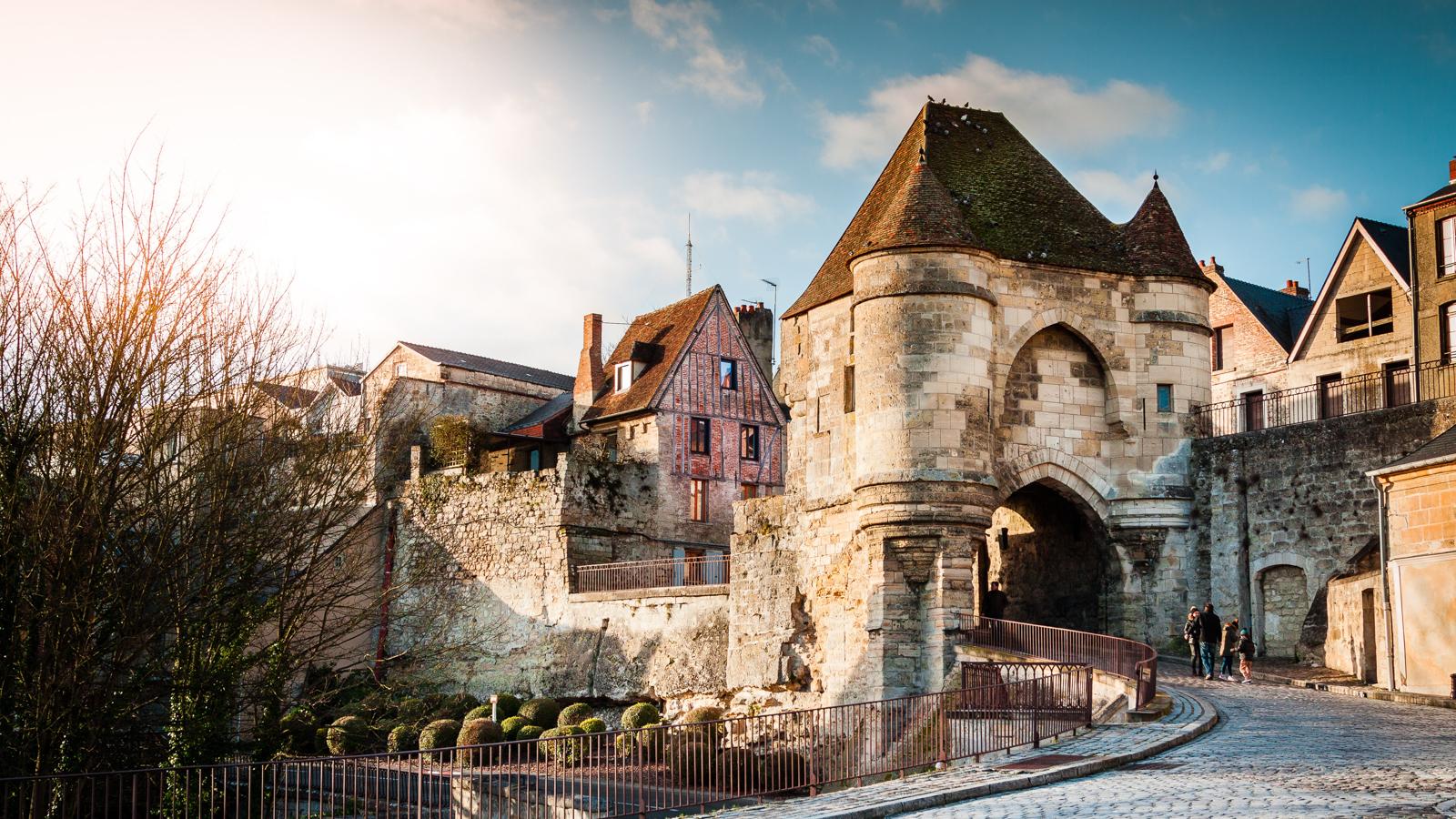 Ville medievale de Laon dans les Hauts-de-France