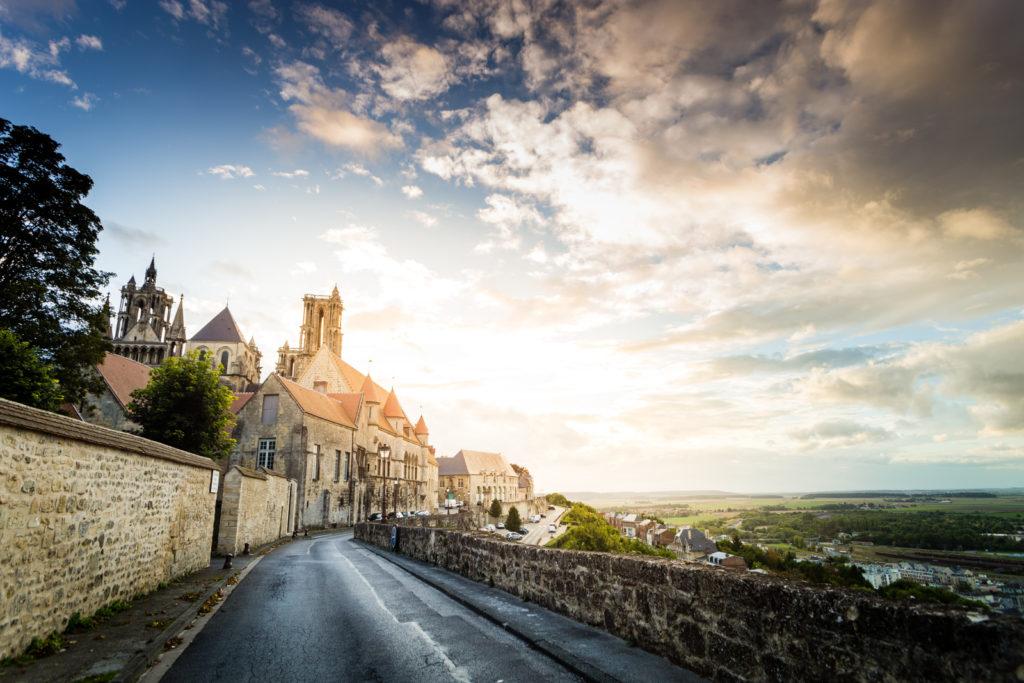 Remparts medievaux de la ville de Laon