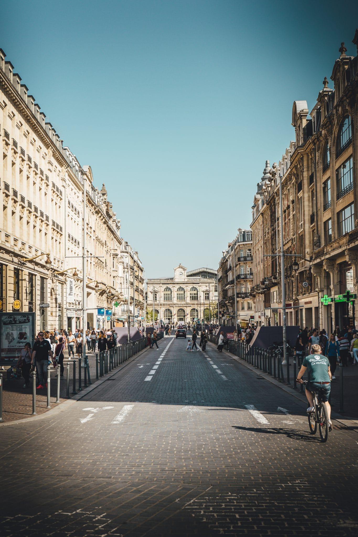Rue de Lille Nord de la France