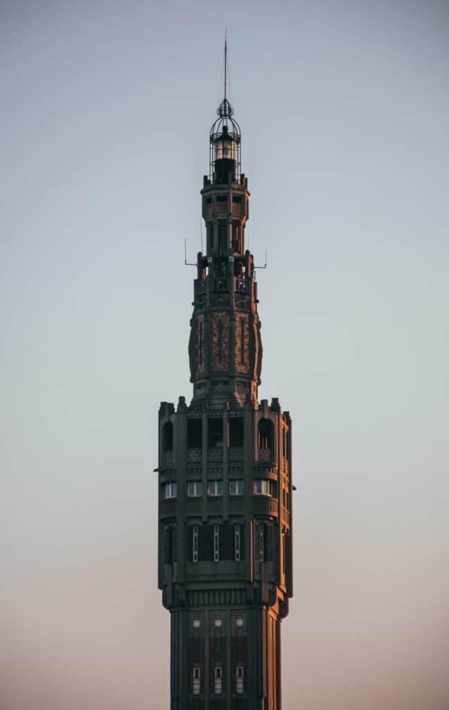 Tour dans le centre de Lille en France