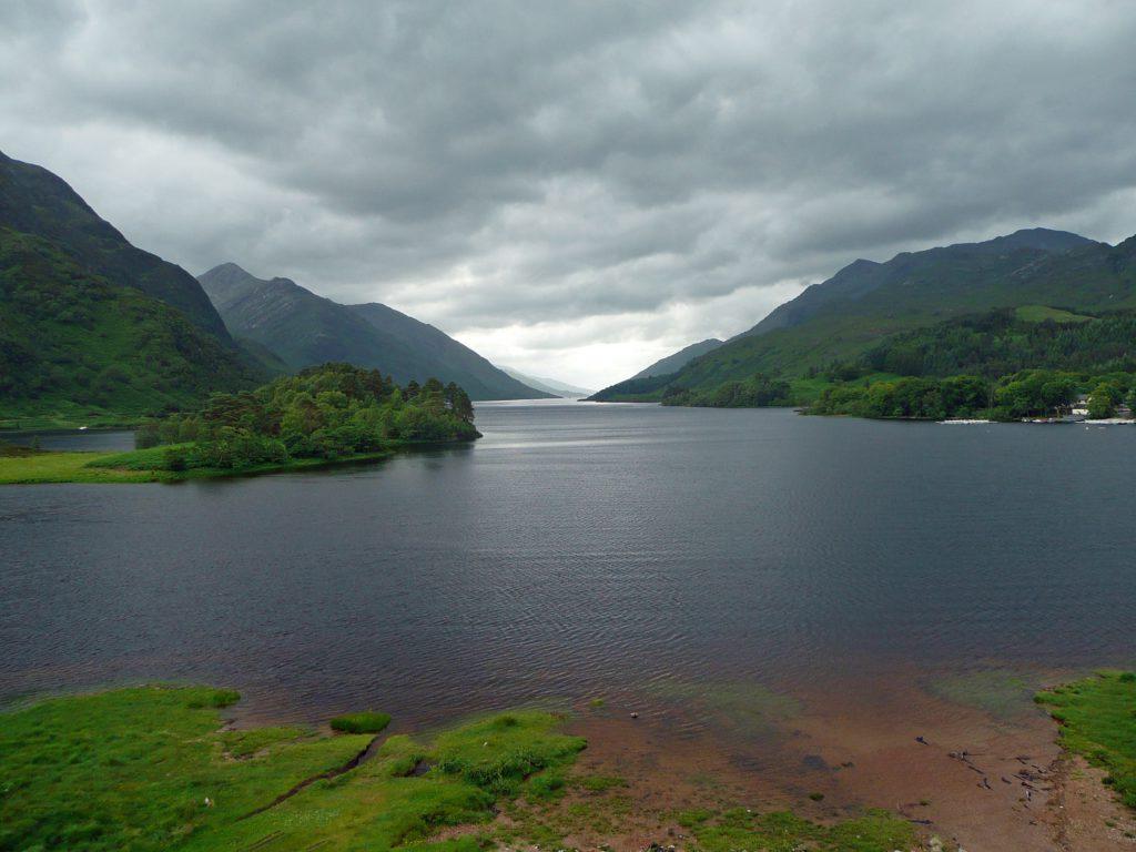Loch Shiel Ecosse entourant Poudlard