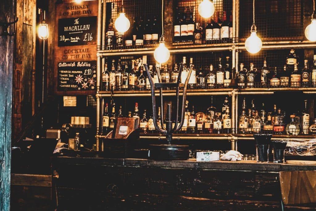 Bar de Londres, encore plus de bières qu'à l'Oktoberfest