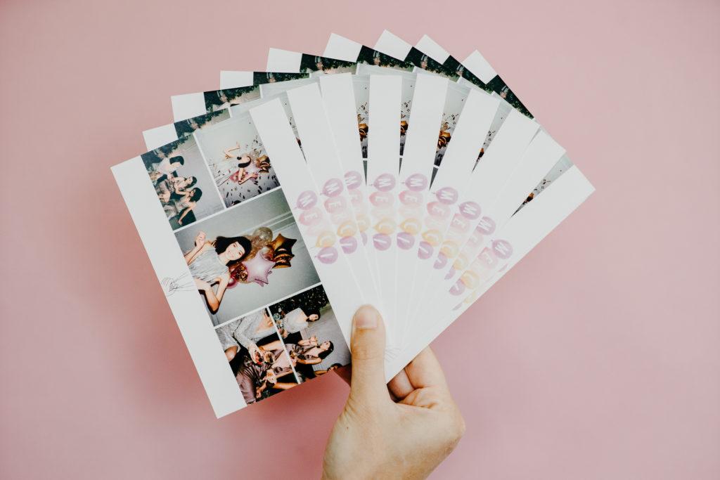 lot de cartes postales remerciements