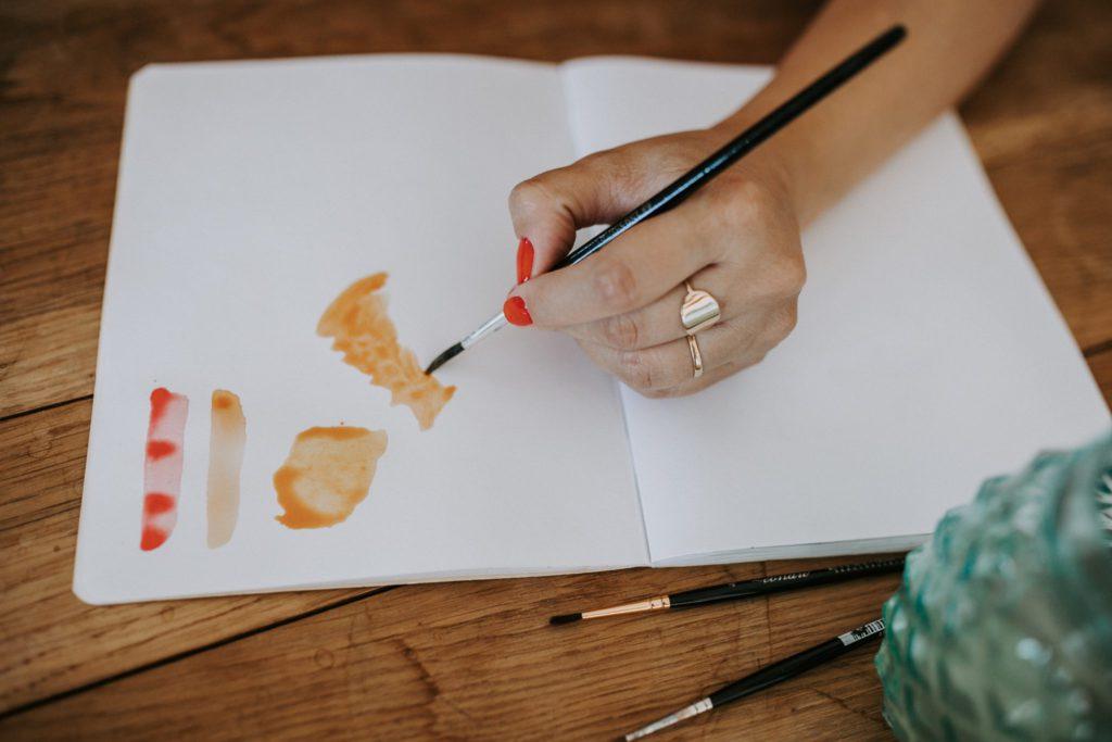 dessin à l'aquarelle par Shirley