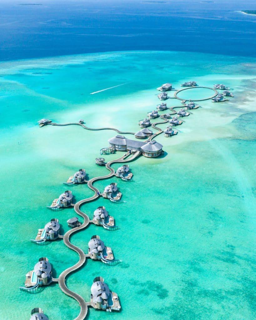 Hôtels sur l'eau aux Maldives