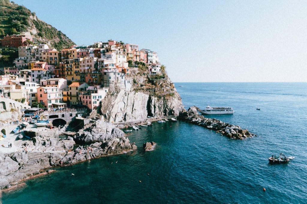 Vue des Cinque Terre, Italie