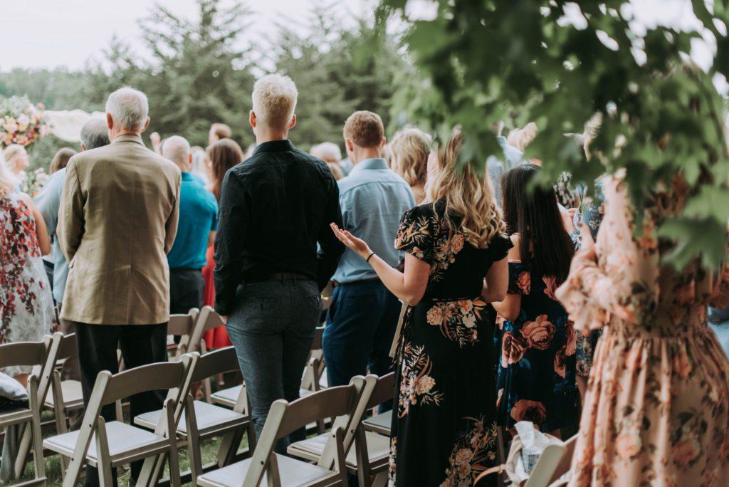 groupe a un mariage laïque