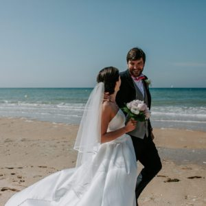 Mariage en Normandie sur la plage