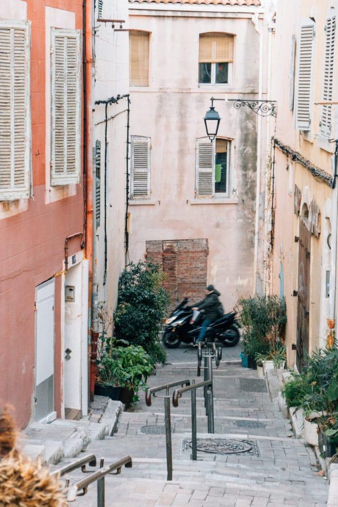 Rue de Marseille, ville à visiter lors des journées du Patrimoine